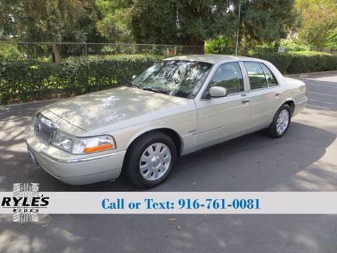 2004 Mercury Grand Marquis for sale in Sacramento, CA