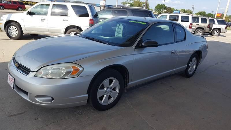 Chevrolet Monte Carlo LT In Lincoln NE Star City Auto Sales - Chevrolet lincoln