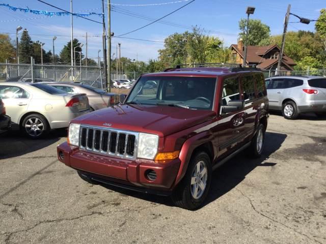 2007 Jeep Commander For Sale At Oakwood Car Center In Detroit MI