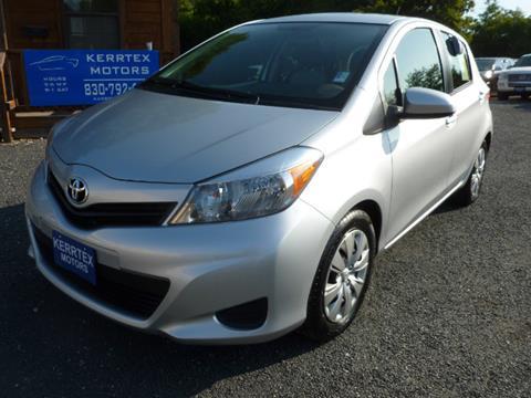 2014 Toyota Yaris for sale in Kerrville TX