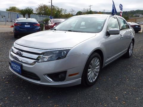 2010 ford fusion hybrid for sale in kerrville tx