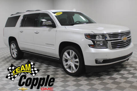 2017 Chevrolet Suburban Premier 1500 for sale at Copple Chevrolet GMC Inc in Louisville NE