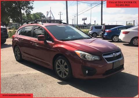 Subaru Impreza For Sale in Austin, TX - USA AUTO CENTER