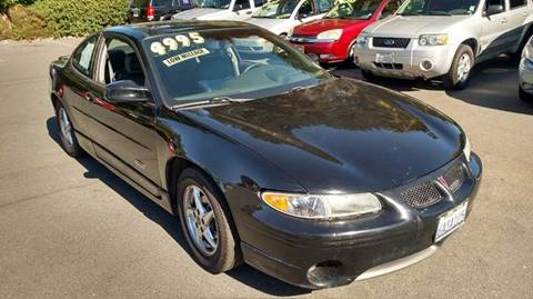 2002 Pontiac Grand Prix for sale in Santa Rosa CA