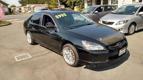 2005 Honda Accord for sale in Santa Rosa CA