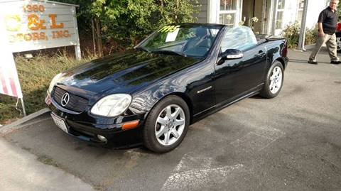 2002 Mercedes-Benz SLK for sale in Santa Rosa, CA