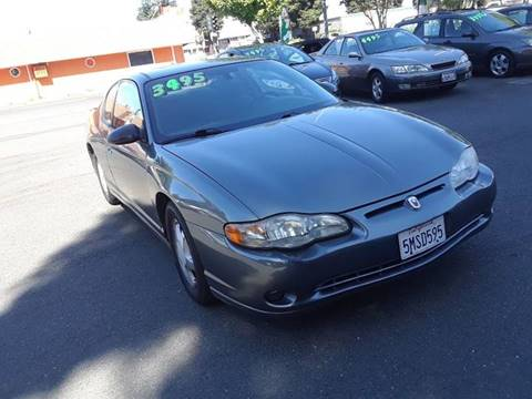 2005 Chevrolet Monte Carlo for sale in Santa Rosa, CA