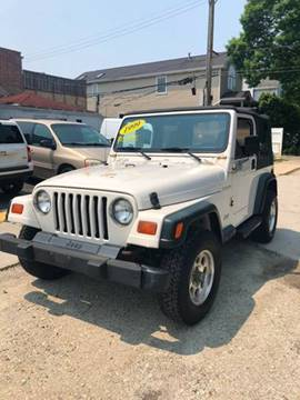 1999 Jeep Wrangler For Sale >> Used 1999 Jeep Wrangler For Sale Carsforsale Com