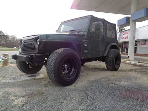 1999 Jeep Wrangler for sale in Thomasville, NC