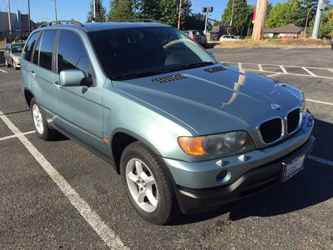 2003 BMW X5 for sale at KARMA AUTO SALES in Federal Way WA