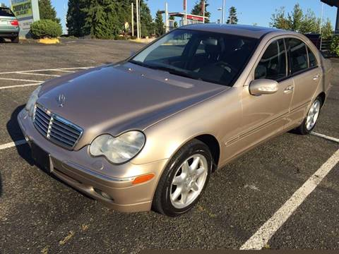 2002 Mercedes-Benz C-Class for sale at KARMA AUTO SALES in Federal Way WA