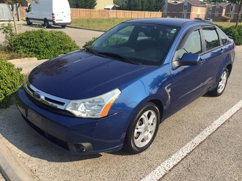 2008 Ford Focus for sale at KARMA AUTO SALES in Federal Way WA