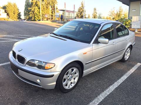 2003 BMW 3 Series for sale at KARMA AUTO SALES in Federal Way WA