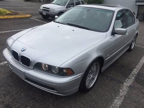 2002 BMW 5 Series for sale at KARMA AUTO SALES in Federal Way WA