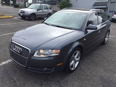 2007 Audi A4 for sale at KARMA AUTO SALES in Federal Way WA