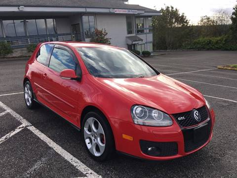 2007 Volkswagen GTI for sale at KARMA AUTO SALES in Federal Way WA