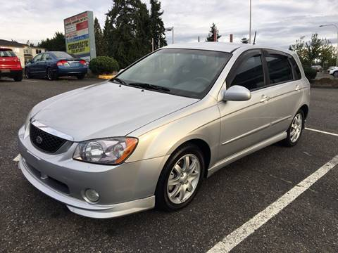 2006 Kia Spectra for sale at KARMA AUTO SALES in Federal Way WA