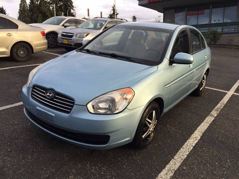 2009 Hyundai Accent for sale at KARMA AUTO SALES in Federal Way WA