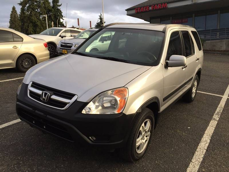 2004 Honda CR V For Sale At KARMA AUTO SALES In Federal Way WA