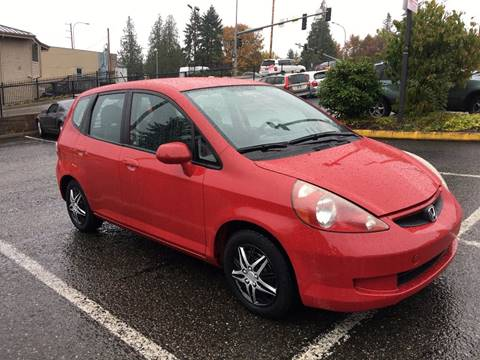 2008 Honda Fit for sale at KARMA AUTO SALES in Federal Way WA