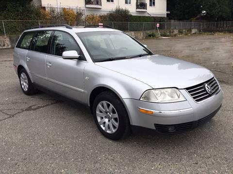 2003 Volkswagen Passat for sale at KARMA AUTO SALES in Federal Way WA