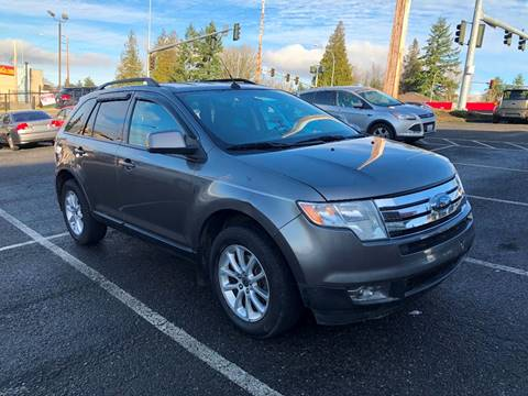 2009 Ford Edge for sale at KARMA AUTO SALES in Federal Way WA