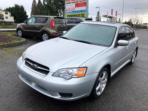 2007 Subaru Legacy for sale at KARMA AUTO SALES in Federal Way WA