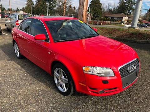 2006 Audi A4 for sale at KARMA AUTO SALES in Federal Way WA