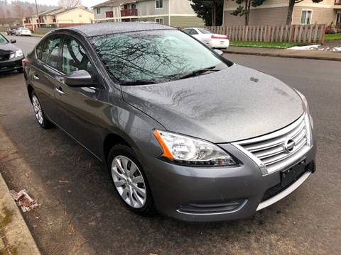 2015 Nissan Sentra for sale at KARMA AUTO SALES in Federal Way WA
