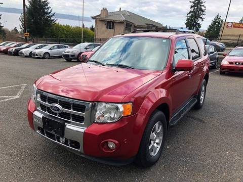 2011 Ford Escape for sale at KARMA AUTO SALES in Federal Way WA