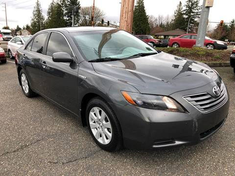 2007 Toyota Camry Hybrid for sale at KARMA AUTO SALES in Federal Way WA