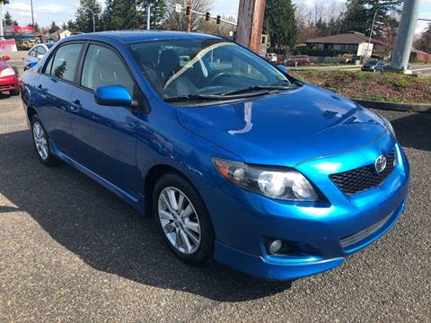 2010 Toyota Corolla for sale at KARMA AUTO SALES in Federal Way WA