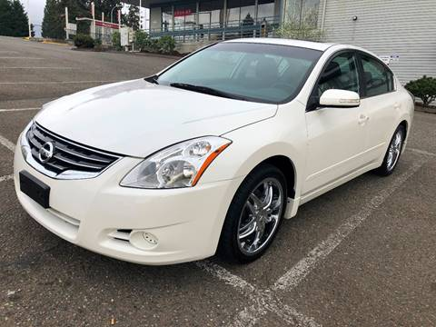 2012 Nissan Altima for sale at KARMA AUTO SALES in Federal Way WA