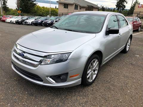 2011 Ford Fusion for sale at KARMA AUTO SALES in Federal Way WA