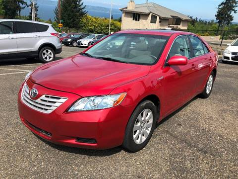 2008 Toyota Camry Hybrid for sale at KARMA AUTO SALES in Federal Way WA