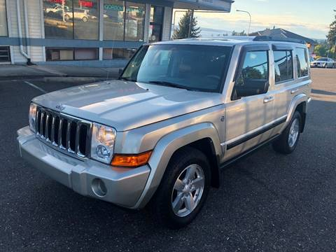2008 Jeep Commander for sale at KARMA AUTO SALES in Federal Way WA