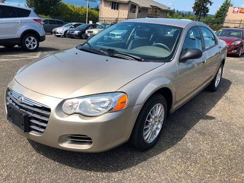 2004 Chrysler Sebring for sale at KARMA AUTO SALES in Federal Way WA