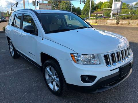 2012 Jeep Compass for sale at KARMA AUTO SALES in Federal Way WA