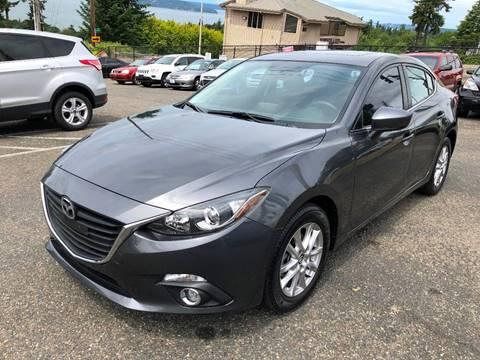 2014 Mazda MAZDA3 for sale at KARMA AUTO SALES in Federal Way WA