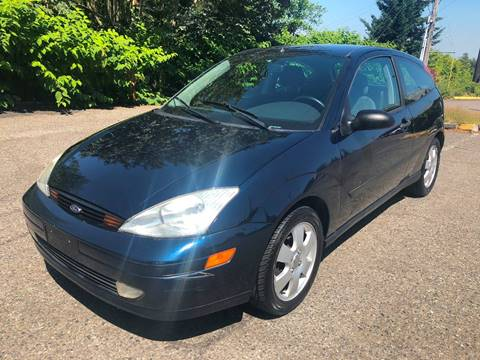 2002 Ford Focus for sale at KARMA AUTO SALES in Federal Way WA