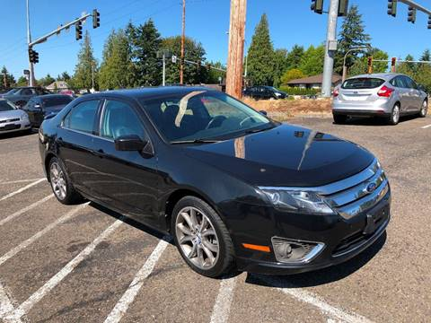 2010 Ford Fusion for sale at KARMA AUTO SALES in Federal Way WA