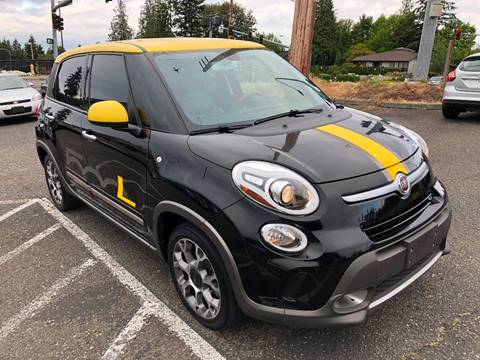 2014 FIAT 500L for sale at KARMA AUTO SALES in Federal Way WA