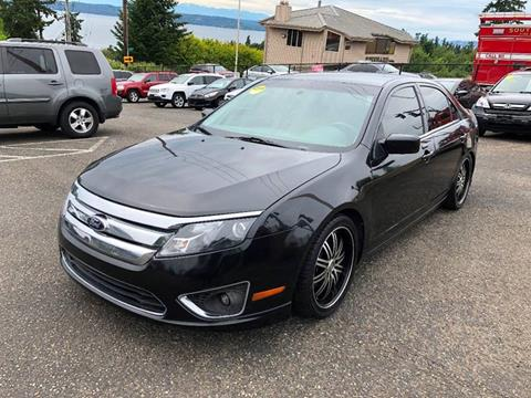 2012 Ford Fusion for sale at KARMA AUTO SALES in Federal Way WA