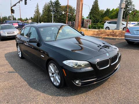 2011 BMW 5 Series for sale at KARMA AUTO SALES in Federal Way WA