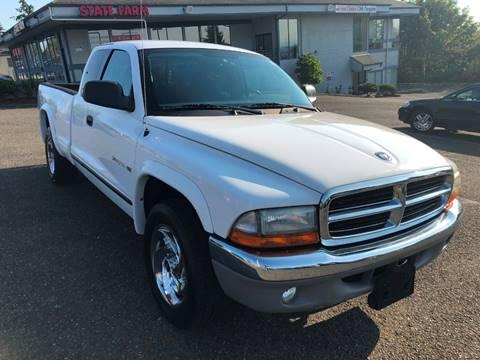 2002 Dodge Dakota for sale at KARMA AUTO SALES in Federal Way WA