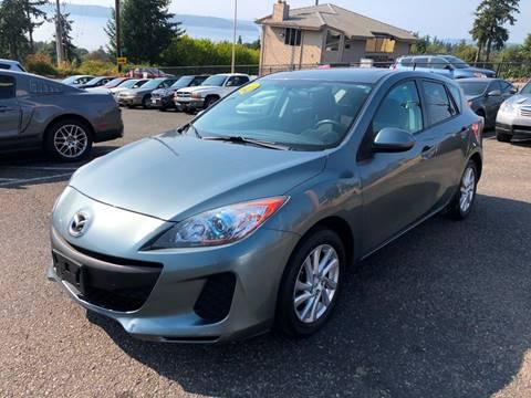 2012 Mazda MAZDA3 for sale at KARMA AUTO SALES in Federal Way WA
