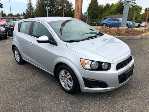 2013 Chevrolet Sonic for sale at KARMA AUTO SALES in Federal Way WA