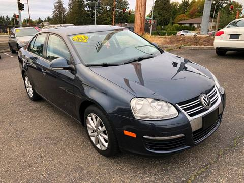 2010 Volkswagen Jetta for sale at KARMA AUTO SALES in Federal Way WA