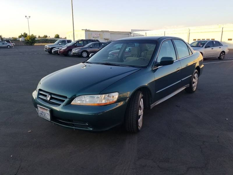 2002 Honda Accord For Sale At United Automotive LLC In Sacramento CA