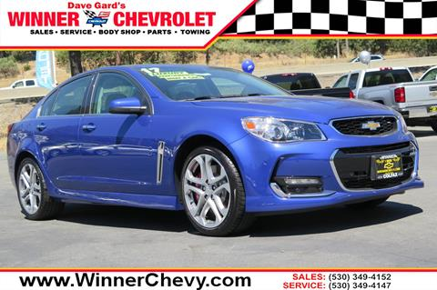2017 Chevrolet SS for sale in Colfax, CA